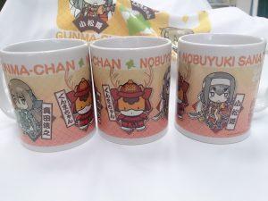 幸村ぐんまちゃん&小松姫&信之マグカップ